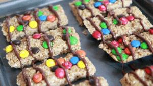 homemade granola bars recipe easy peanut butter