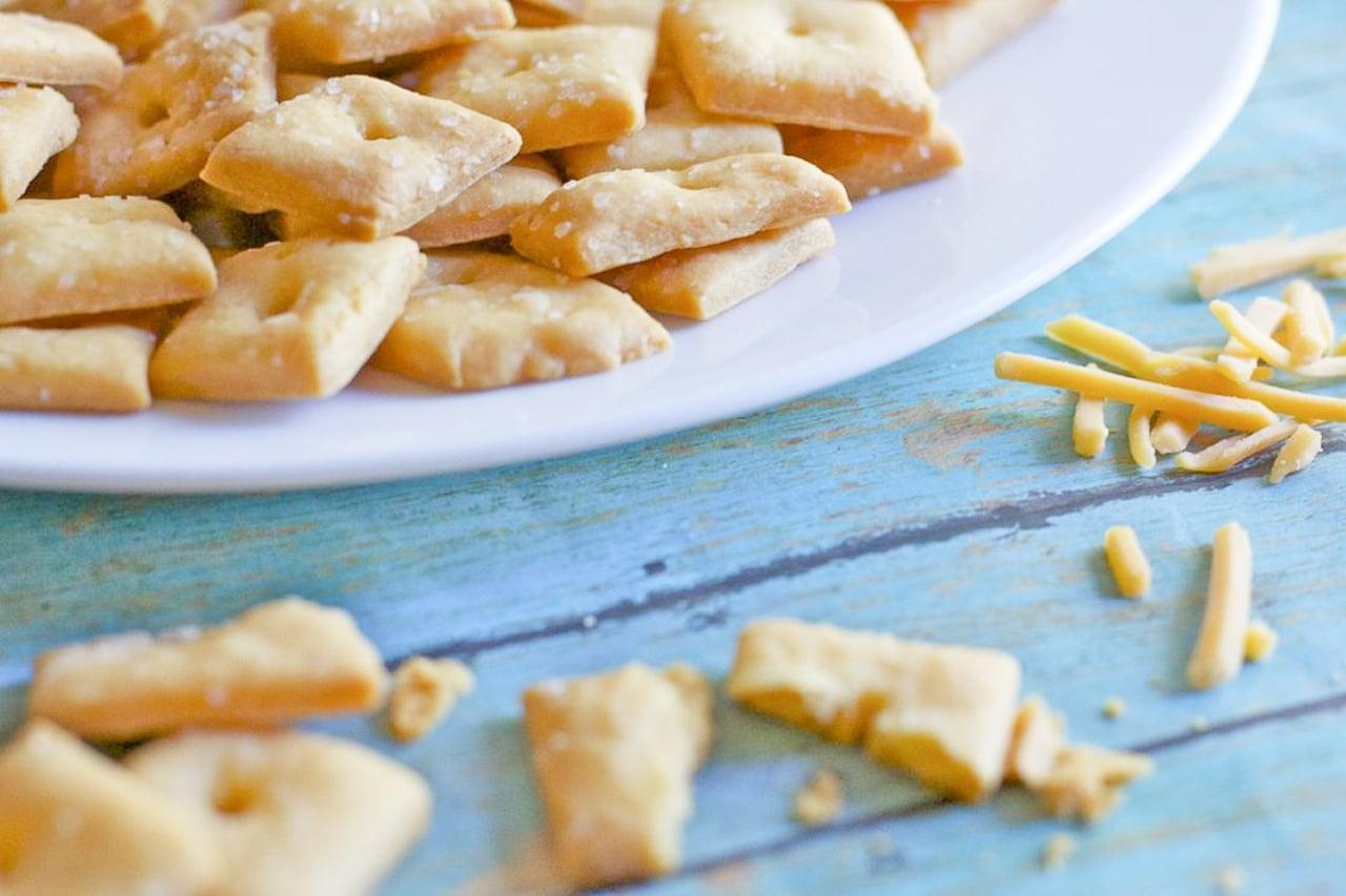 homemade cheese cracker recipe