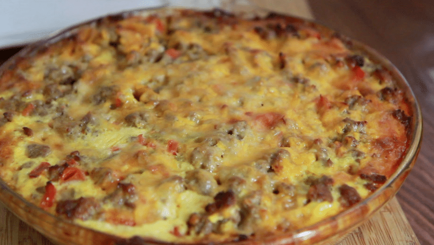 Sausage Hash Brown Casserole Recipe