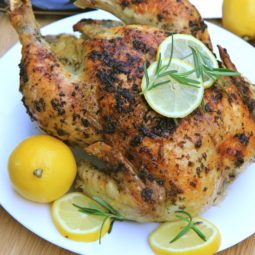 lemon garlic rosemary roasted chicken recipe