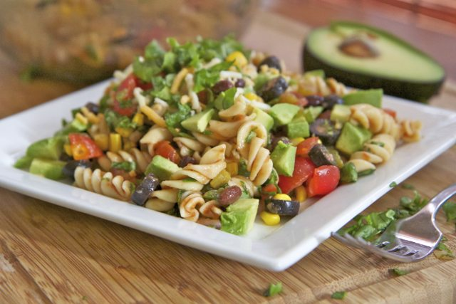 Mexican Taco Pasta Salad Recipe