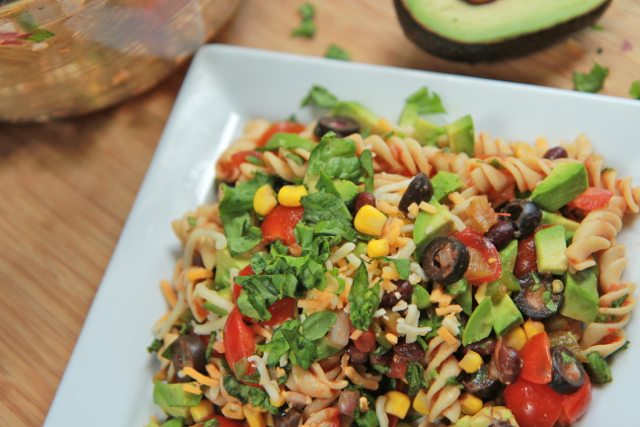 Mexican Taco Pasta Salad Recipe