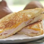grilled cheese, roasted turkey pear sandwich