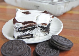Easy Oreo Ice Box Cake