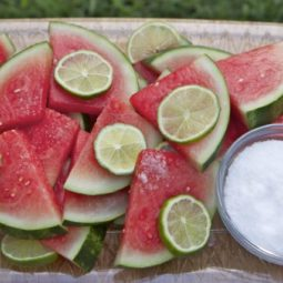 margarita soaked watermelon slices recipe tequila rum soaked