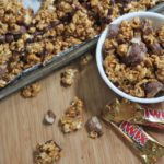 twix caramel popcorn recipe crunchy caramel popcorn how to make