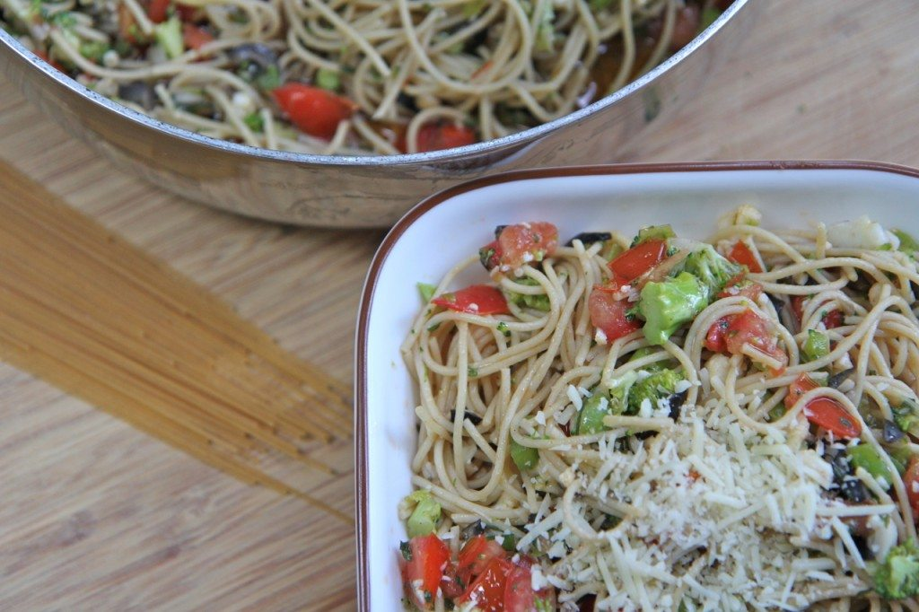 Skinny girl pasta recipe