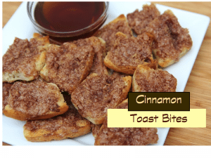 Cinnamon Toast Using Sister Schubert's® Parker House Style Yeast Rolls