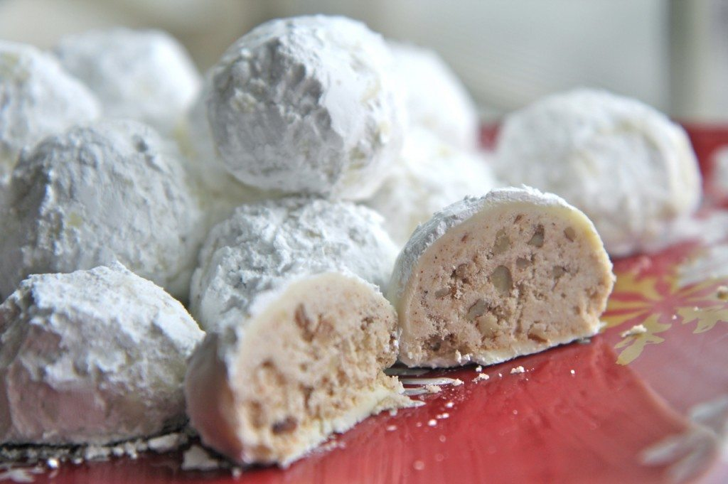 Watch me make these Cinnamon Pecan Snowball Cookies from start to ...