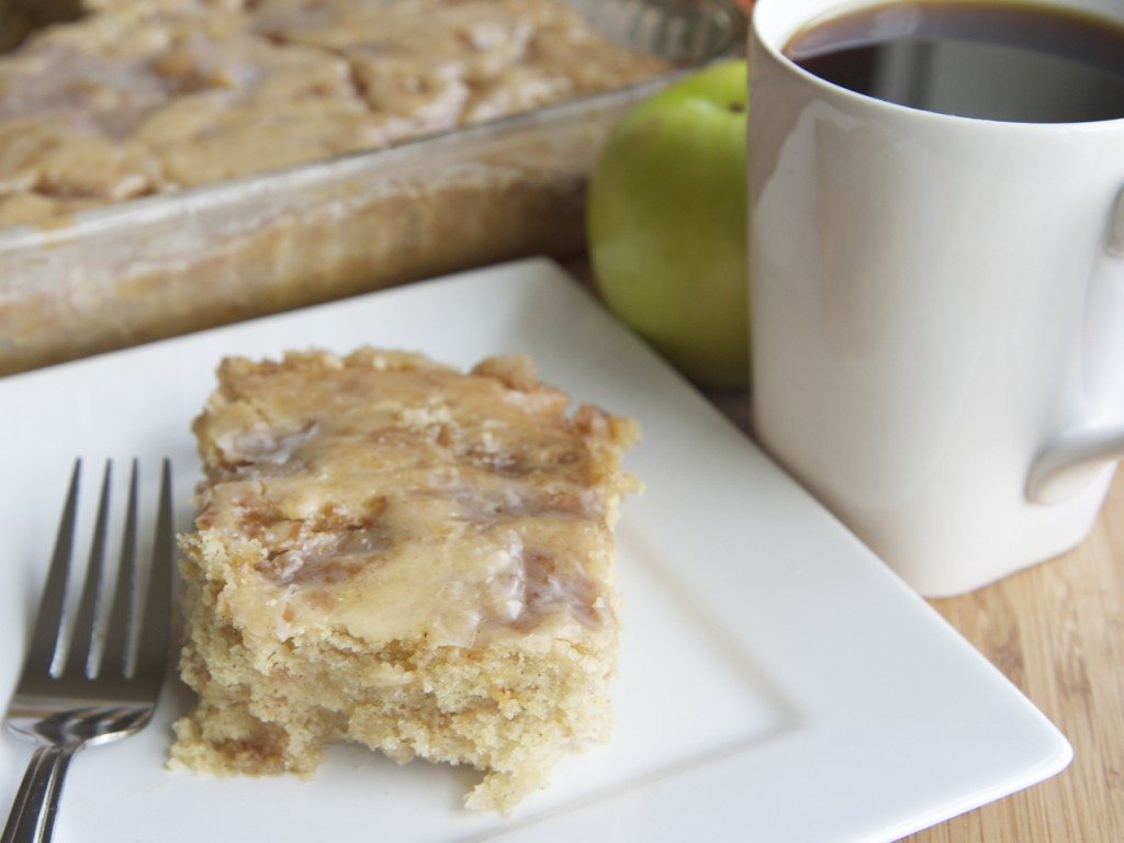 Apple Fritter Coffee Cake