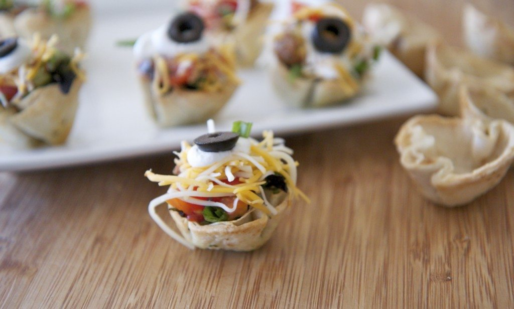 mini taco bites recipe