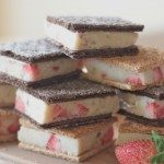healthy ice cream sandwich recipe (strawberry banana) 6