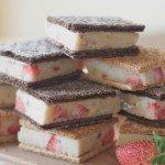 healthy ice cream sandwich recipe (strawberry banana) 6