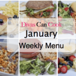 january weekly menu