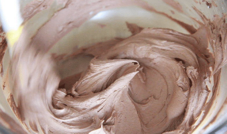 Easy Whipped Chocolate Buttercream Frosting Recipe~ The Best!! | Divas ...