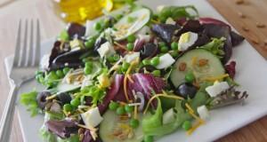 Hubby's Spring Sweet Pea Salad