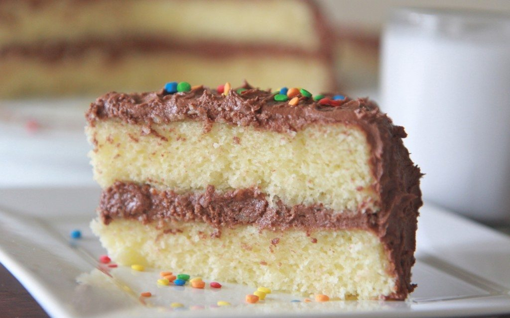Fluffy Moist Homemade Yellow Cake Recipe Divas Can Cook