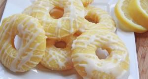 Baked Lemon Cake Donuts