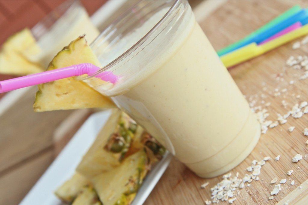 pina colad protein breakfast smoothie 1