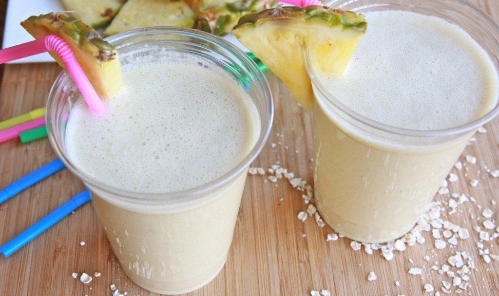 pina colada protein breakfast smoothie 2
