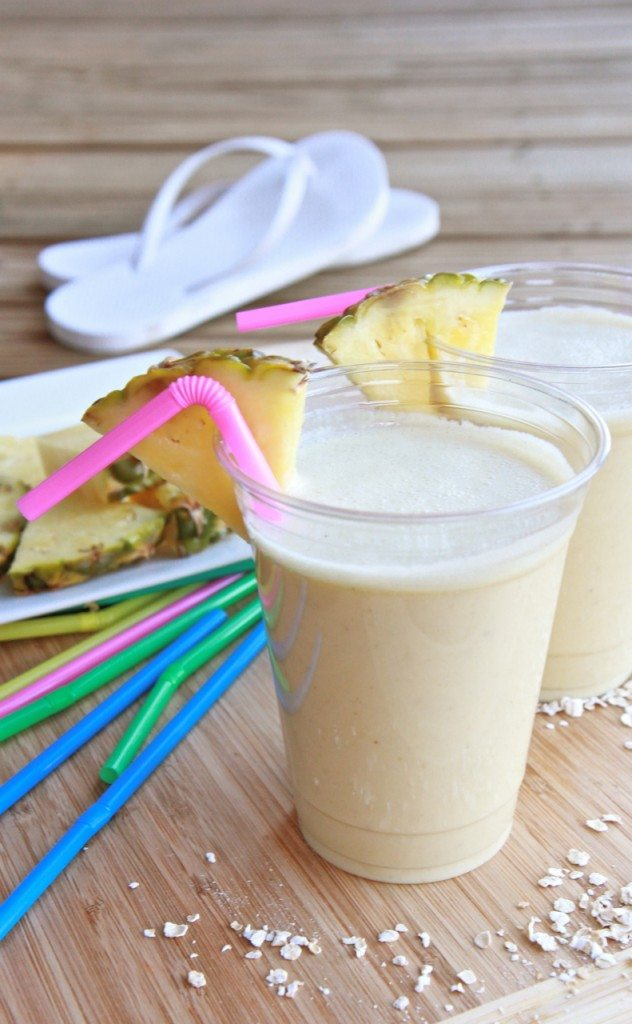 pina colad protein breakfast smoothie 3