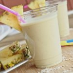 pina colada protein breakfast smoothie