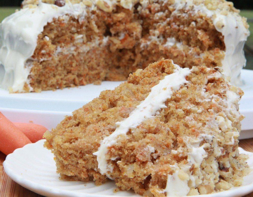 Carrot cake recipe with sour cream