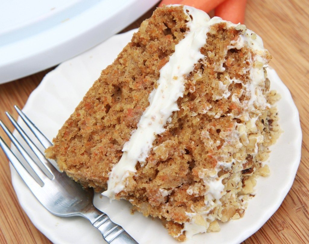 Moist Carrot Cake Recipe Uk