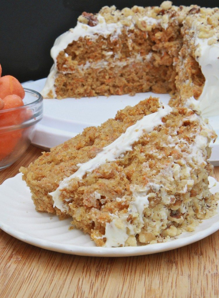 Carrot cake recipe using rice flour