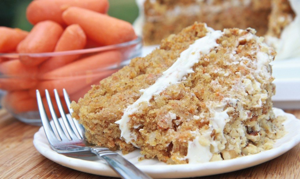 Light Fluffy Carrot Cake