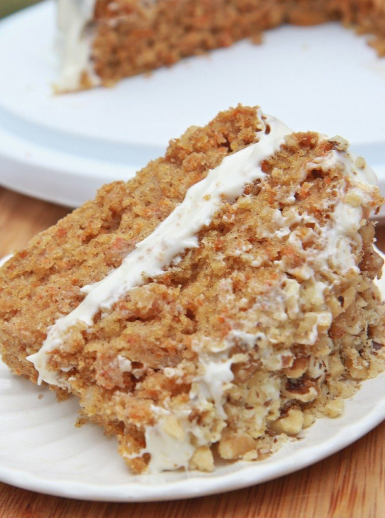 Moist Carrot Cake Recipe Recipe   Dishmaps