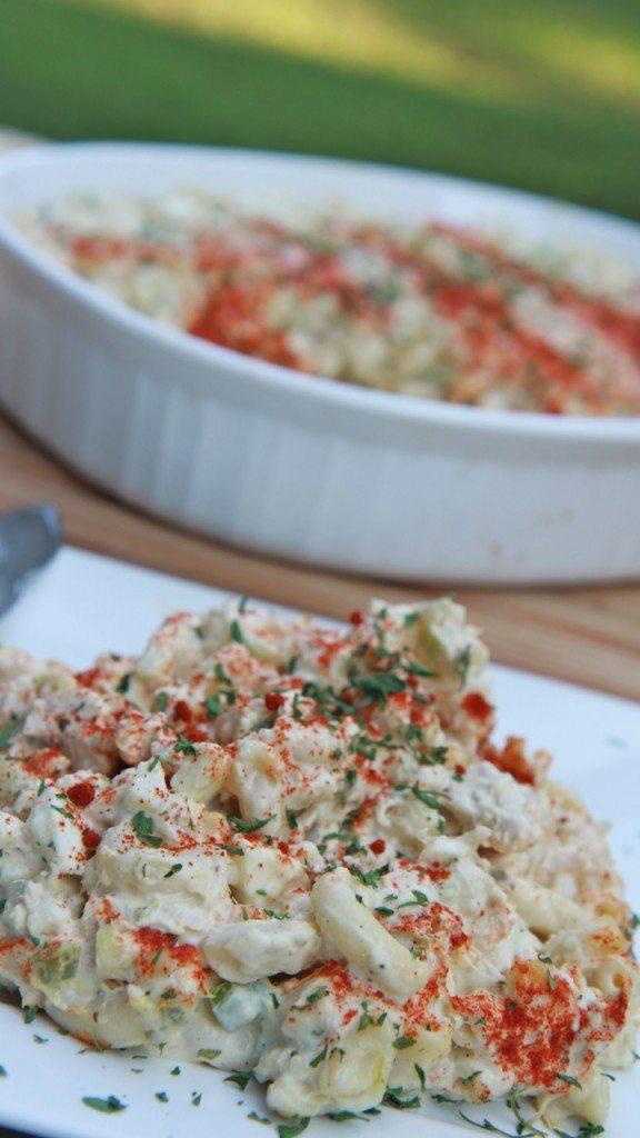 cold tuna macaroni salad 4