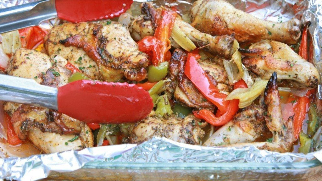 Easy Roasted Pepper Chicken Recipe Divas Can Cook