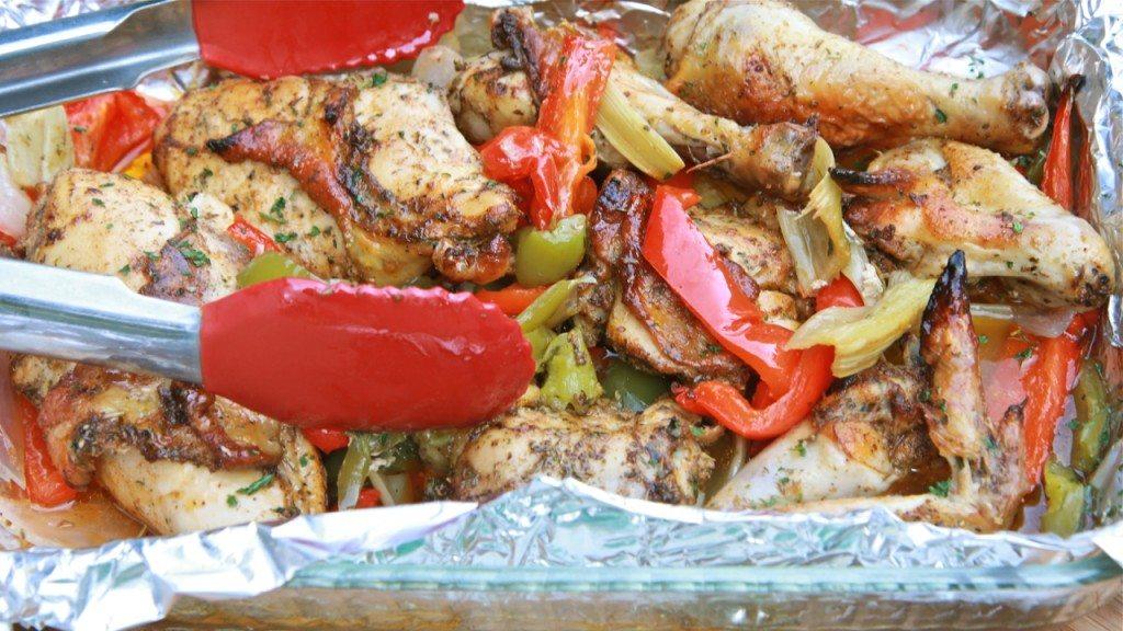 fajita roasted pepper chicken 5