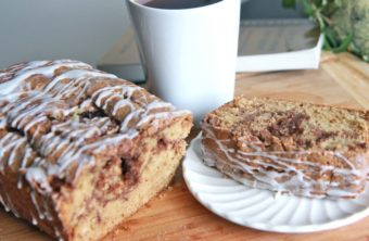 Cinnamon-Sugar Quick Bread