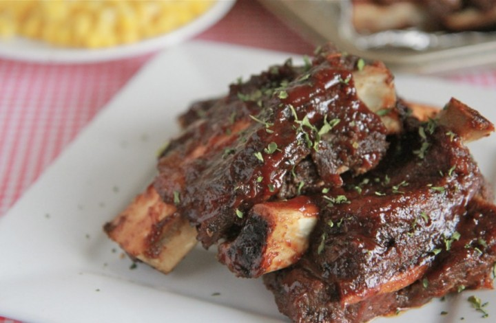 Easy Oven Baked Beef Ribs