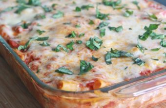 Mom's Easy Baked Ziti