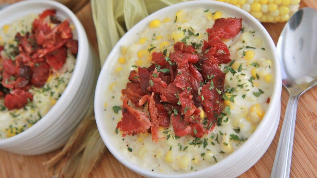 Southern Creamed Corn w/ Bacon