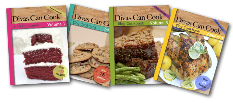 Divas Can Cook Blog Cookbooks ON SALE!!