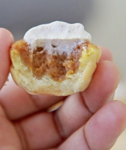 mini pumpkin pie bites recipe
