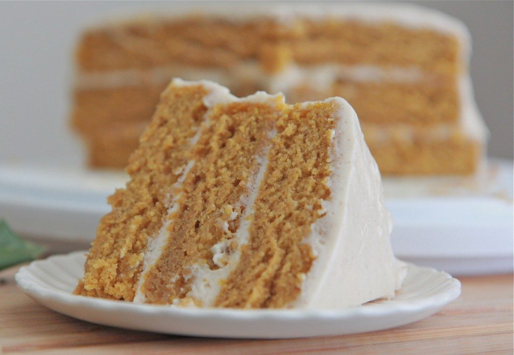 Best Pumpkin Spice Cake With Cream Cheese Frosting