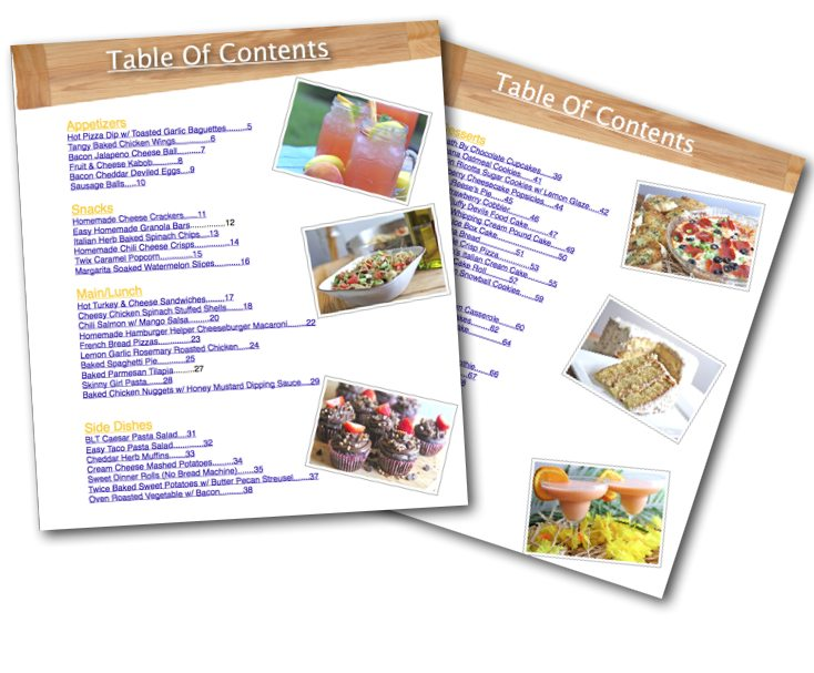 Easy Navigation Table Of Contents