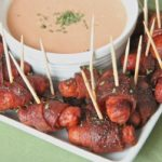 Bacon Wrapped Smokies (Brown Sugar Chili)