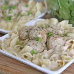 Creamy Slow Cooker Meatball Stroganoff Recipe Slow Cooker c