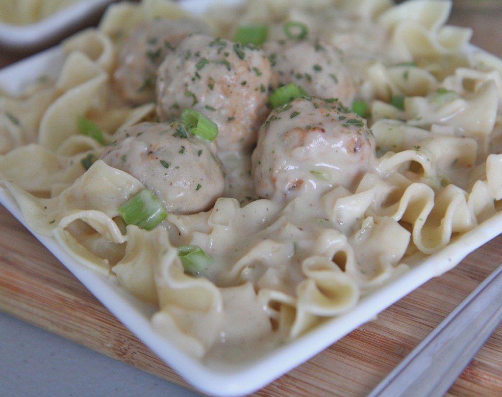 Creamy Slow Cooker Meatball Stroganoff Recipe Slow Cooker