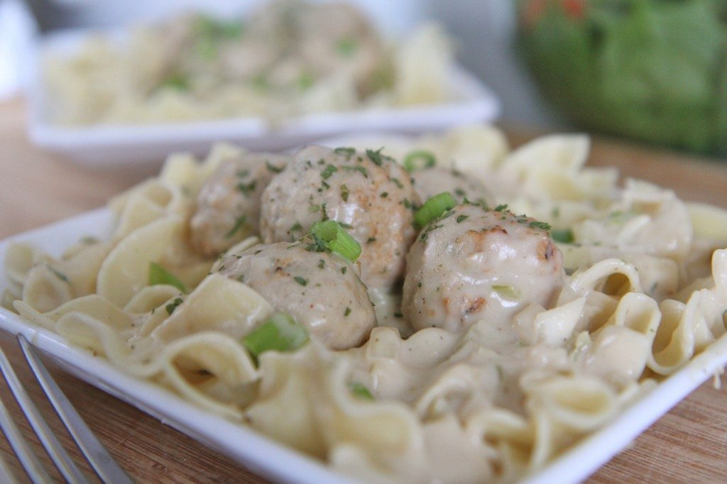 Creamy Slow Cooker Meatball Stroganoff Recipe Slow Cooker