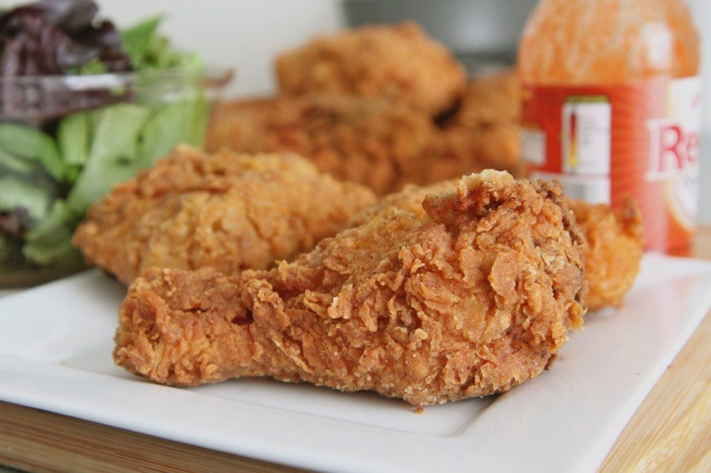 Spicy Crispy Fried Chicken