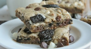Cookies & Cream Blondies