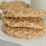 peanut butter oatmeal no bake cookies recipe