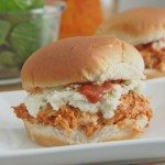 sweet smokey pulled BBQ chicken sandwiches
